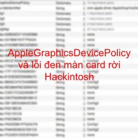Từ điển kext macOS - Hackintosh - Cài đặt macOS trên PC, Laptop